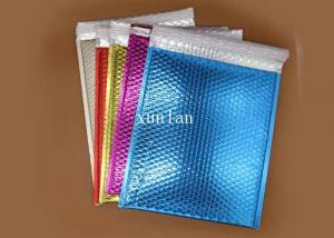 China Colored A4 Bubble Wrap Envelopes Copperplate Printing With 2 Sealing Sides on sale