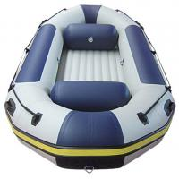 4 M Inflatable River Raft Double Layer Bottom 8 Person Inflatable Raft For Drifting