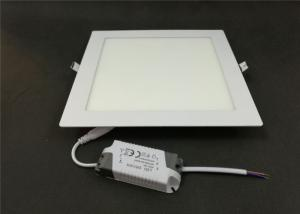 Quality Ultra Thin 18w SMD LED Panel Light Embedded Round Square For Office Ceiling for sale