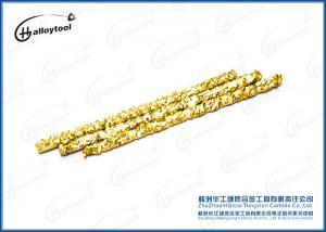 China Sheet Metal Carbide Welding Rod Stable Arc Less Splash 14.40-14.55 G/Cm³ on sale