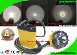 China 10.4Ah High Low Beam Cree LED Mining Lights with Cable SOS Low Power Warning on sale