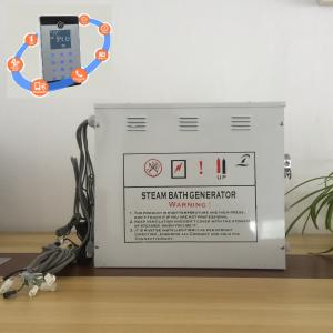 China Innovative White 12kw Steam Generator With Stainless Steel Tank and Water Level Probes on sale
