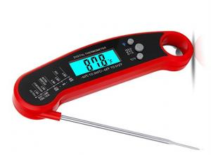 China IP67 Waterproof Digital Kitchen Probe Thermometer With Magnet / Bottle Opener on sale