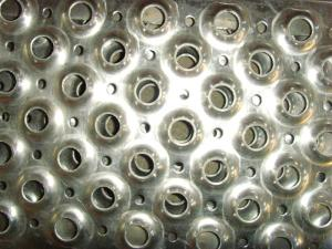 China Round Hole 304 Stainless Steel Perforated Metal Sheet For Trench Cover on sale