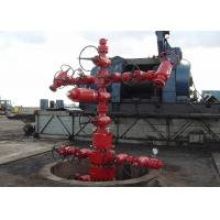 Oil Well Christmas Tree Equipment , Gas Production / Oilfield Christmas Tree API 6A