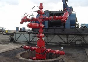 China Oil Well Christmas Tree Equipment , Gas Production / Oilfield Christmas Tree API 6A on sale
