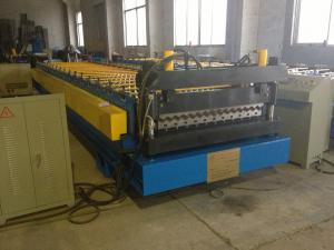China Corrugated Metal Steel Roof Panel Roll Forming Machine  Automatic  PLC Control Customized on sale