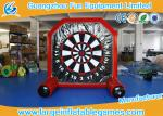 Plato material Inflatable Sport Games / Inflatable Foot Darts For Kids