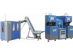 China High Speed Pet Blow Molding Machine With Advanced PLC Energy Saving on sale