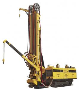 China Small Trailer Mounted CBM Drilling Rig / Core Drill Rig For Exploration on sale