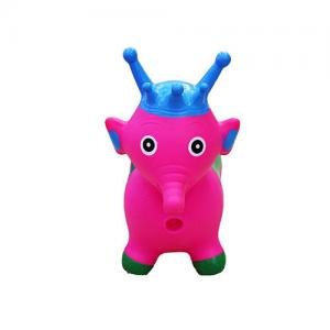 China Kids Animal Bouncy Hopper Toys Inflatable Bouncer Jumping Deer Baby Play Indoor Toys on sale