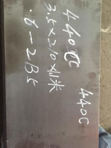 China 440A High Carbon Stainless Steel Sheet , 440B 440C Stainless Steel Plate on sale