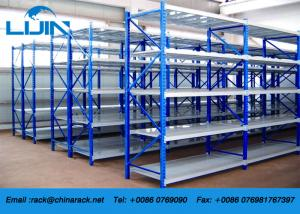 China Space Saving Industrial Light Duty Racking 1500 - 3000mm Height 350 - 600mm Depth on sale