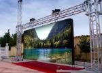 Building outdoor advertising led screen dispaly P10 DIP high bright
