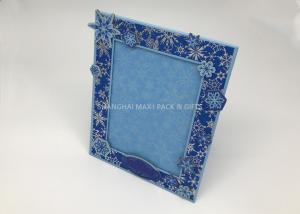 China Square Christmas Custom Printed Cardboard Photo Frames To Decorate 4x6 5x7 8x10 Hot Stamping on sale