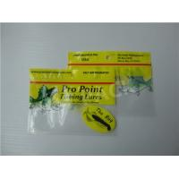 China Printed Fishing Bait Soft Plastic Storage Bags With Clear Window And Foil Zipper on sale