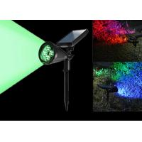 7 Colors Changing Solar LED Garden Lights , Solar Powered Led Pole Lights