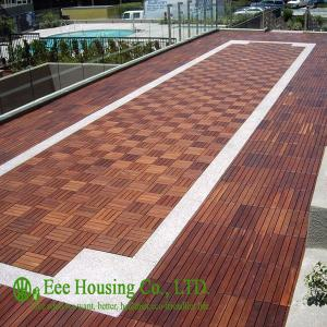 China 300x300x23mm Outdoor Bamboo Flooring,Decking Tile Unit Series on sale