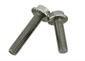 China Magnetic Grade 5 Zinc Plated External Finish Hex Head Bolts Resists Loosening Metric Thread on sale