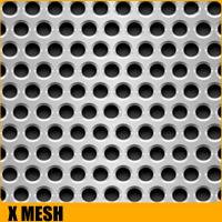 Standard 5mm hole 8mm pitch decorative stainless steel sheets perforated  for USA, EU, Africa market