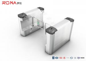 China Access Control Swing Gate Turnstile 304 Stainless Steel With DC Brush Motor on sale