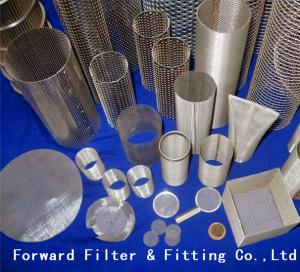 China Aluminum Wire Mesh Perforated Metal Pipe of Lube Oil Filter Elements on sale