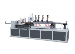 China Multi Knife Paper Core Pipe Making Machine Two Heads Model CNC Controlled on sale