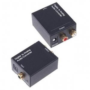China Digital to Analog Converter, Optical Toslink SPDIF Coax to L/R RCA Audio Adapter on sale
