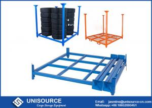China Adjustable Light Truck Tire Storage Rack 2400 Lbs Load With Removable Posts on sale