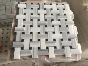China High Quality Marmara Equator White Marble Hexagon Stone Mosaic Tile/stone mosaic on sale