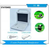 12 Inch Screen Black / White Ultrasound Scanner Gray Scales 256 For Horse