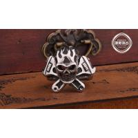 China Fashion  Jewelry stainless steel Vintage Ring for men E19 Retro fashion Skull ring on sale