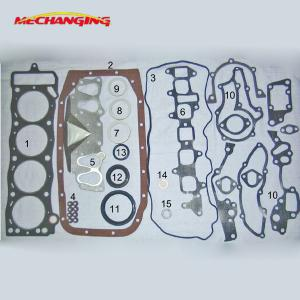 China 22R/RE/REC ASBESTOS full set for TOYOTA engine gasket 04111-35020 04111-35044 50099200 on sale