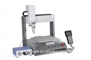 China 300*340*60 Mm 35kg SMT Liquid Dispensing Machine / Glue Dispenser Easy Operation on sale