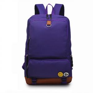 China Multi Function College Student Backpack Light Weight  In Bright Color on sale