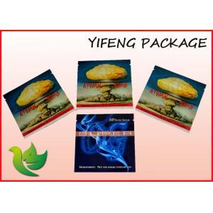 China Alumimum Foil Packaging Pouch Moisture Barrier Block Bottom Bag With Zipper on sale