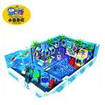 Kids soft indoor playground equipment naughty castle ball pool playground for kids