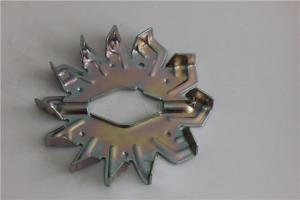 China Custom metal stamping, Galvanized Steel Stamped Wide fan for Electric appliance on sale