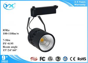 China Indoor Led Surface Mount Light Fixtures , IP 40 DImmable Led Track Lighting Fixtures on sale