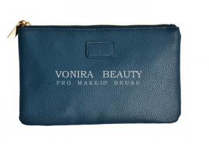 China Women Cosmetic Makeup Brush Roll Bag Toiletry Storage Holders Gadget Pouch Zipper Handbag Clutch Purse on sale
