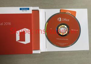 China Microsoft Office 2016 Professional Plus Retail Box USB OEM Version Key Code Sticker DVD Version on sale