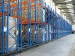 Customized Size Movable Racking Systems Weight Capacity 500-4000KG / Level