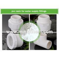 ISO Factory White Color Powder PVC resin SG3 SG5 SG7 SG8 with K value K65 K66 K67 for PVC water supply fittings