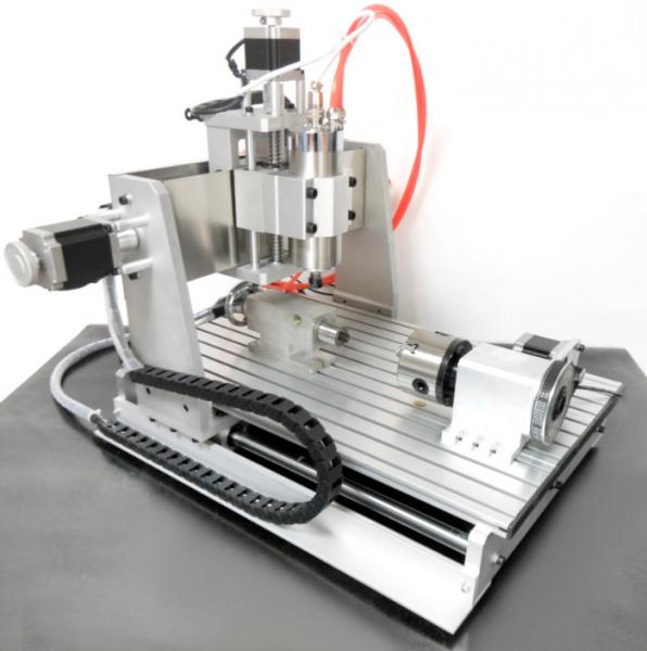 Water Cooling Spindle 3D CNC 3040 Router , 4 Axis CNC Router