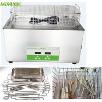 30 Liter Lab Benchtop Ultrasonic Cleaner For Mobile Surgical Instrument Repair
