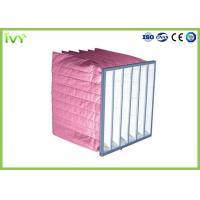 Medium Efficiency Pocket Air Filters For Central Air Conditioning Ventilating System