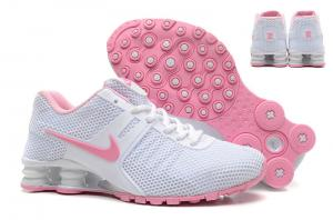 on sale 7d52c 9a207 ... Quality Pink Red Women s Nike Shox Deliver Shoes Black Sneakers Euro  Size 36-40 US ...