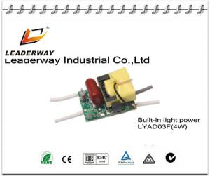China high PF open frame LED power driver 4W on sale