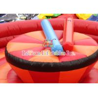 China Juego Jousting interesante del gladiador EN14960 de la arena inflable de la justa on sale
