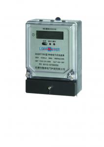 China Light Weight Single Phase Electronic Energy Meter For Industry Low Energy Consumption on sale